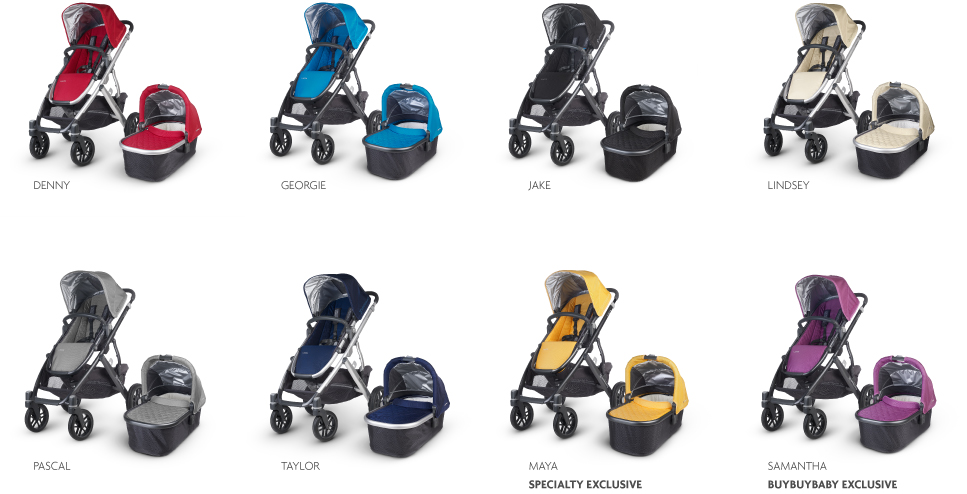 UppaBaby Vista Colors