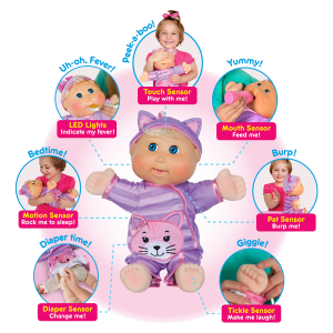 Baby So Real has so many features and they're all delivered in an excellent way.