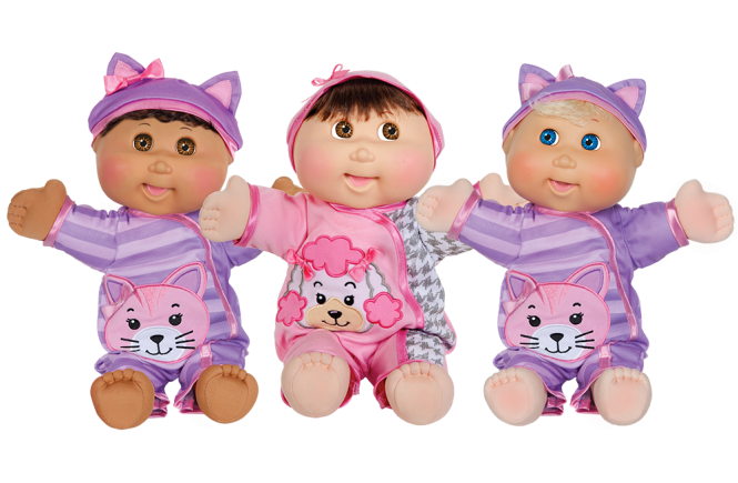 Cabbage Patch Kids Baby So Real will be our big birthday surprise gift.